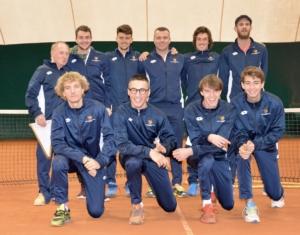La squadra di Tennis Comunali Vicenza